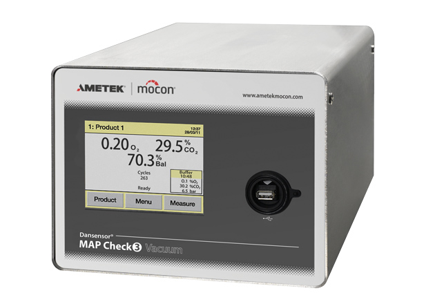 MAP Check 3 Vacuum Gas Analyzer